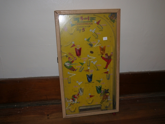 """5 in 1 """"Electric"""" Posh-M-Up, Big 5 pinball game, batteries not included"""