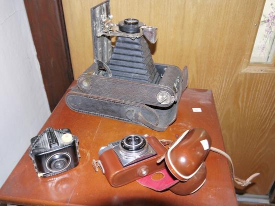 (3) cameras: