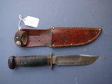 Marble's Gladstone Michigan hunting knife with sheath