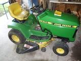 JD LX176 riding lawn mower, hydrostatic, 38