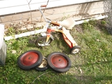 AMP Junior tricycle (tires loose), pair Firestone 12x175F tires