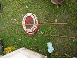 3 pieces:  copper tubing & electrical wire