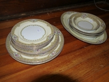 15 pieces of Meita China, Annette Pattern: