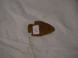 Indian artifact - arrowhead