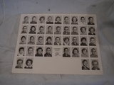 January 1962 Sigourney 6th grade, Mrs. Blunk teacher, class picture