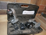 Craftsman 15.6 volt rechargeable drill & flashlight w/charger & 2 batteries & case