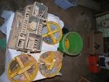 5 gallon bucket  & gray organizer