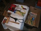 Fareway cardboard tote including:
