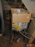 16 quart turkey fryer kit with propane stand