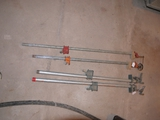 2 sets of bar clamps