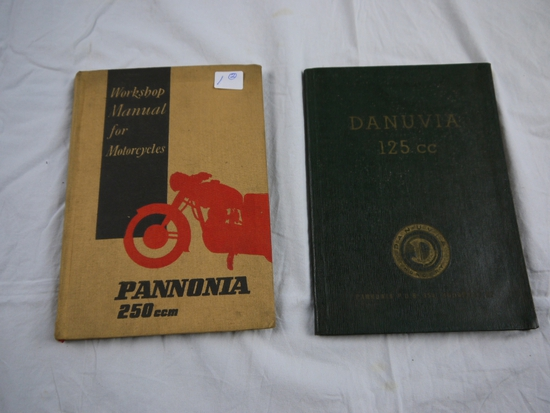 2 Books - motorcycles
