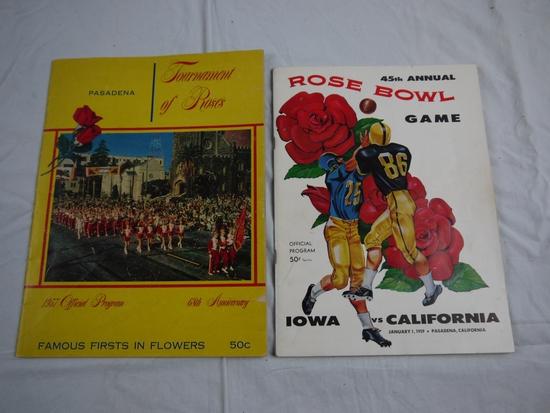 2 Rose Bowl programs
