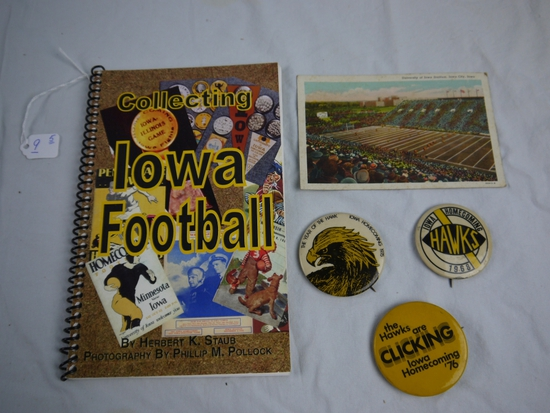 5 Iowa Football & Homecoming items