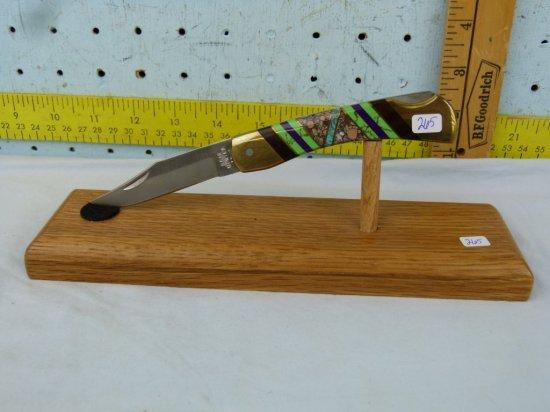 Bear Hunter LB-4 lockback knife, Solingen Stainless 440