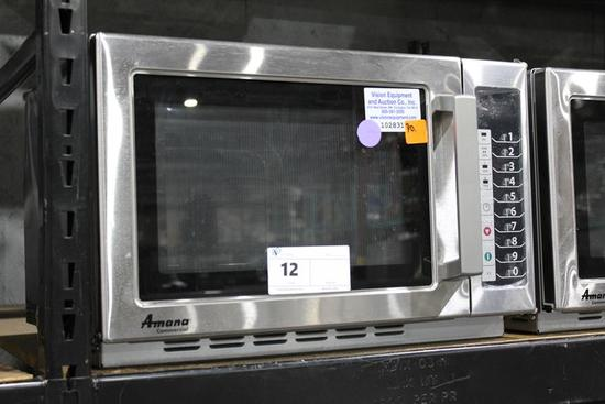 NEW AMANA COMMERCIAL MICROWAVE
