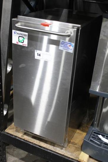 SCOTSMAN CU50GA-1A AIR COOLED UNDERCOUNTER FULL SIZE CUBE ICE MACHINE