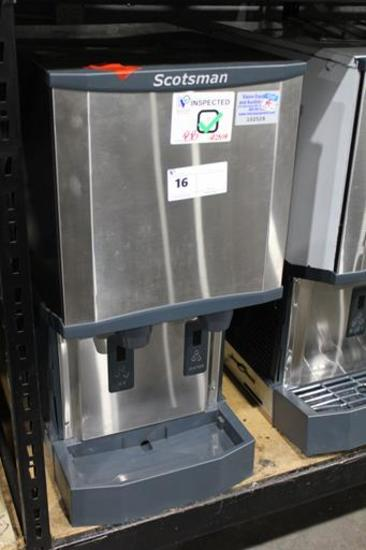 NEW SCOTSMAN HID312A-1A COUNTERTOP ICE MACHINE AND WATER DISPENSER AIR COOLED