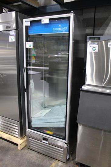 NEW SUMMIT ACCUCOLD ACR1718RH 1-GLASS DOOR PHARMACY COOLER