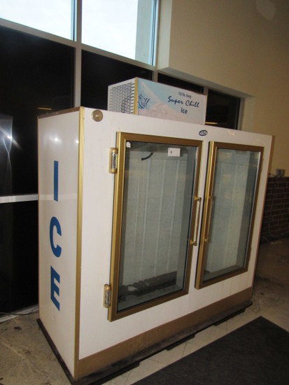 STAR SELF-CONTAINED 2-DOOR ICE MERCHANDISER