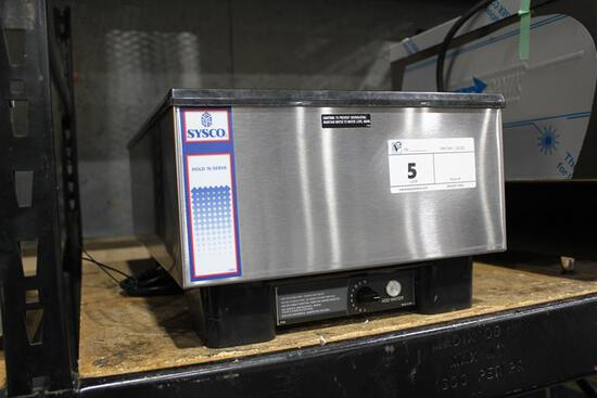 NEW SYSCO HOLD 'N SERVE FULL SIZE FOOD WARMER
