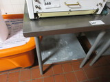 30X30 S/STEEL TABLE