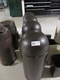 TORPEDO TRASH CANS