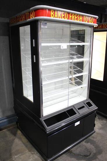 DRY BAKERY 2-GLASS DOOR CASE