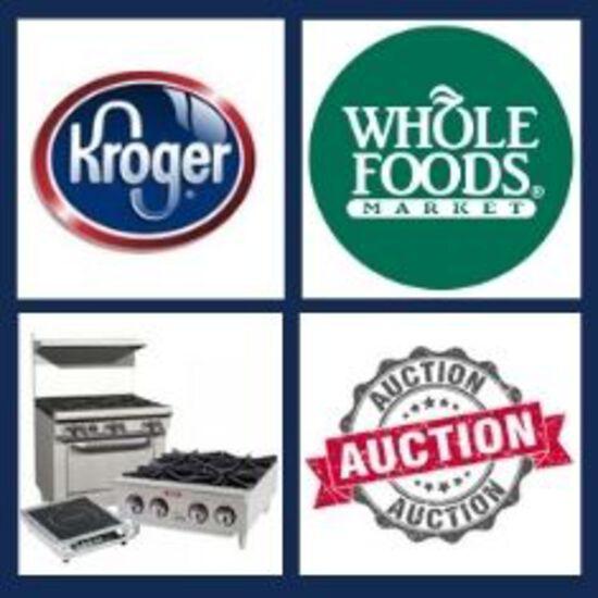 Kroger Whole Foods Surplus New Equipment Overstock