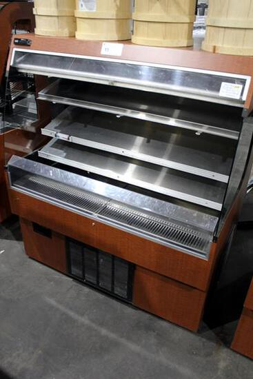 R & D 4' REFRIGERATED GRAB AND GO DISPLAY CASE