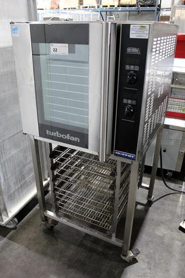 MOFFAT E32D5 ELECTRIC CONVECTION OVEN WITH STAND