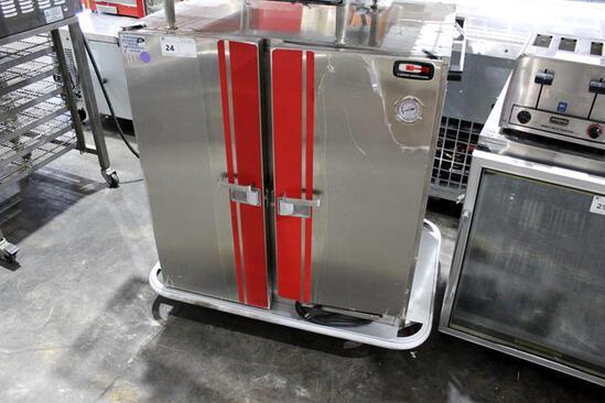 CARTER HOFFMANN PH1215 2-DOOR MOBILE HEATED FOOD WARMING CABINET