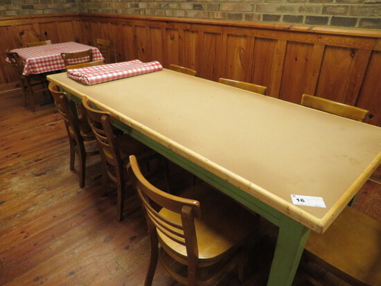 36X96 DINING TABLE