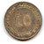 Straits Settlements 1900 silver 10 cents toned UNC Image 2