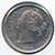Canada 1858 silver 20 cents good VF details Image 1