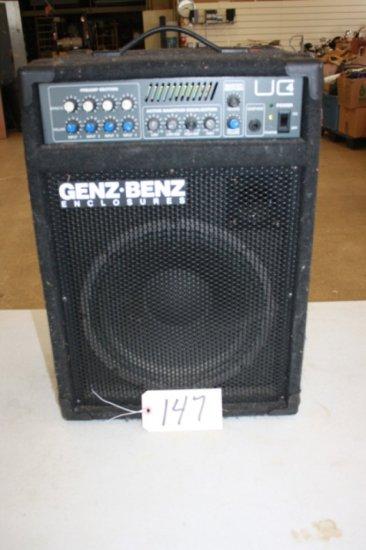 Genz Benz Enclosures Uc 4 Universal Combo Amplifier 135 Watts