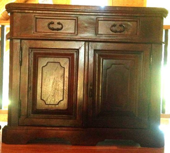 European solid wood cabinet