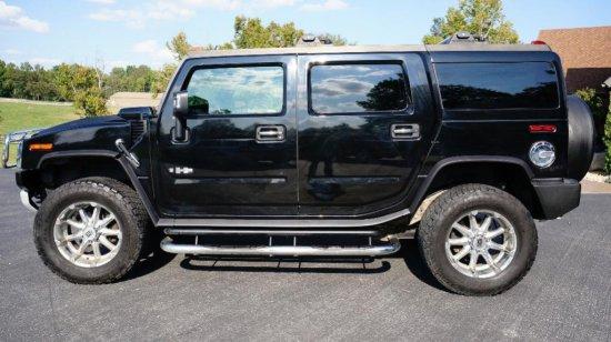 2009 Black H2 Hummer