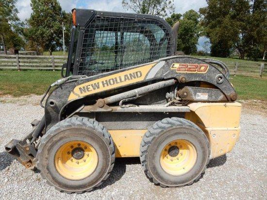 New Holland L220 Skid Steer Loader