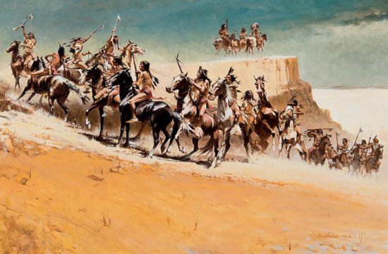 Savage Beauty of the Sioux