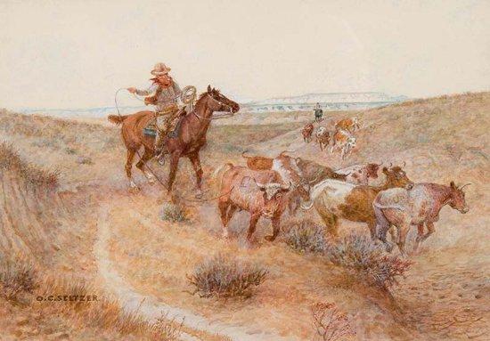 Hazing Out Badland Stragglers