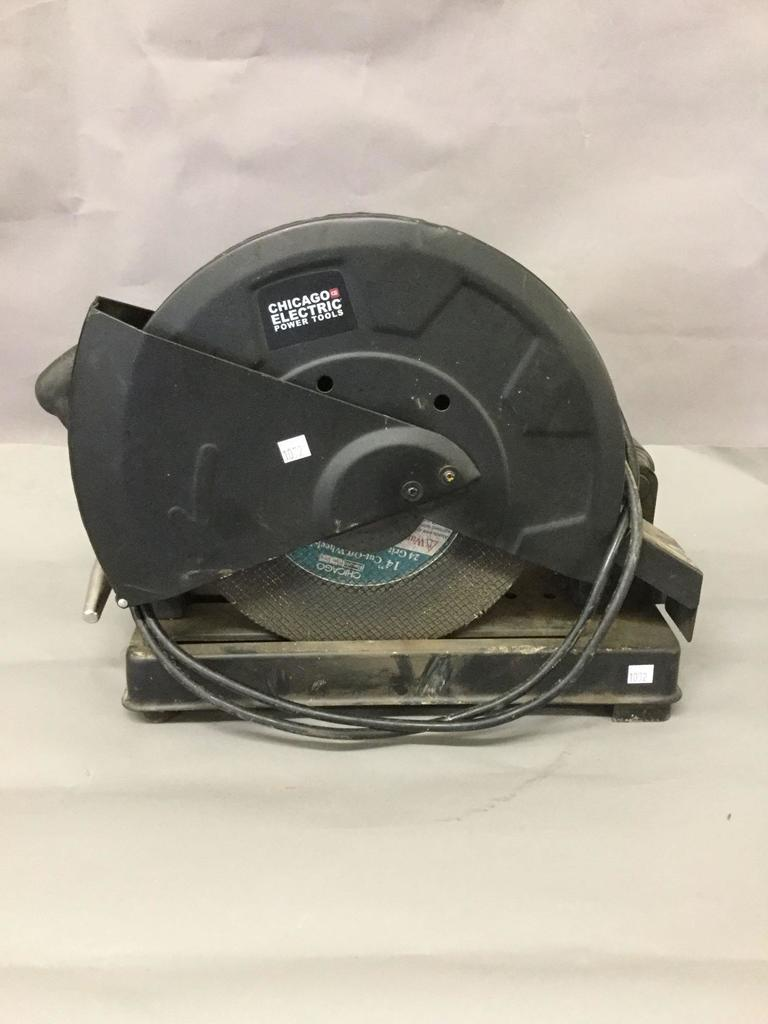 Chicago Electric Cut Off Saw