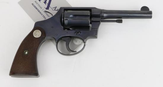 Colt Police Positive double action revolver.