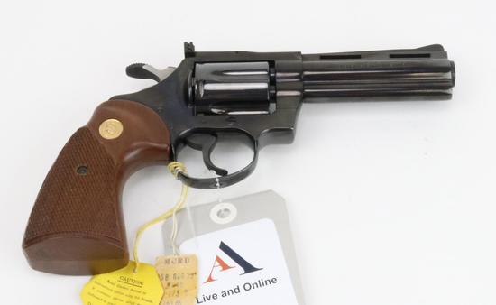 Colt Diamondback double action revolver.