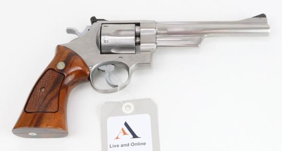 Smith & Wesson 624 double action revolver.