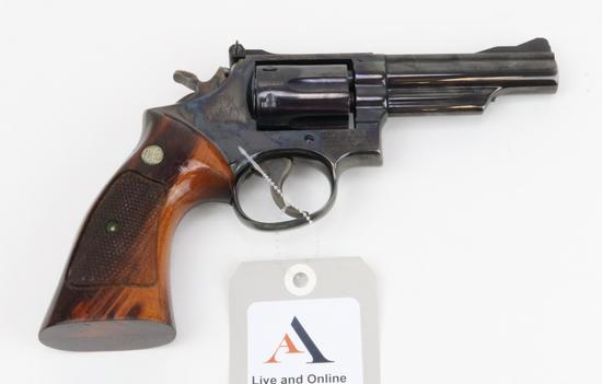 Smith & Wesson 19-3 double action revolver.