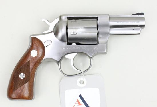 Ruger Speed-Six double action revolver.