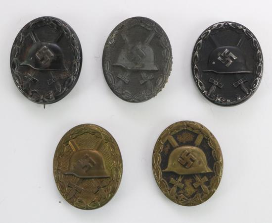 German WWII Wound Badges