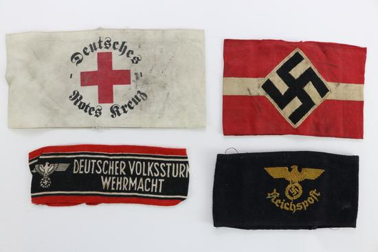 German WWII Armbands