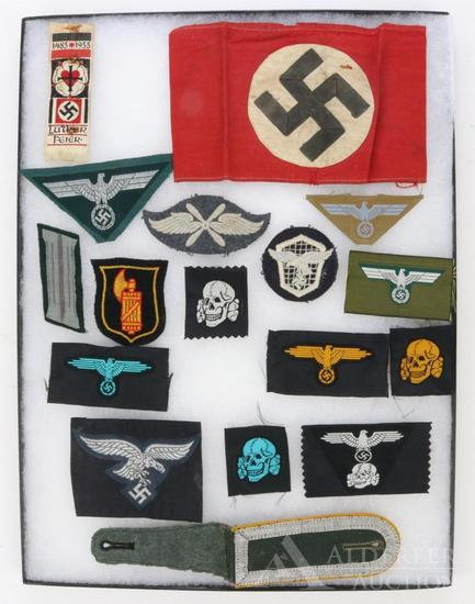 German WWII Insignia & Armband