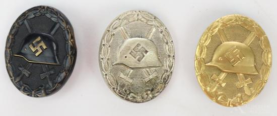 German WWII Wound Badges
